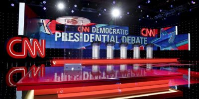 El debate de precandidatos republicanos organizado por CNN rompió récord de audiencia. Foto: Getty Images