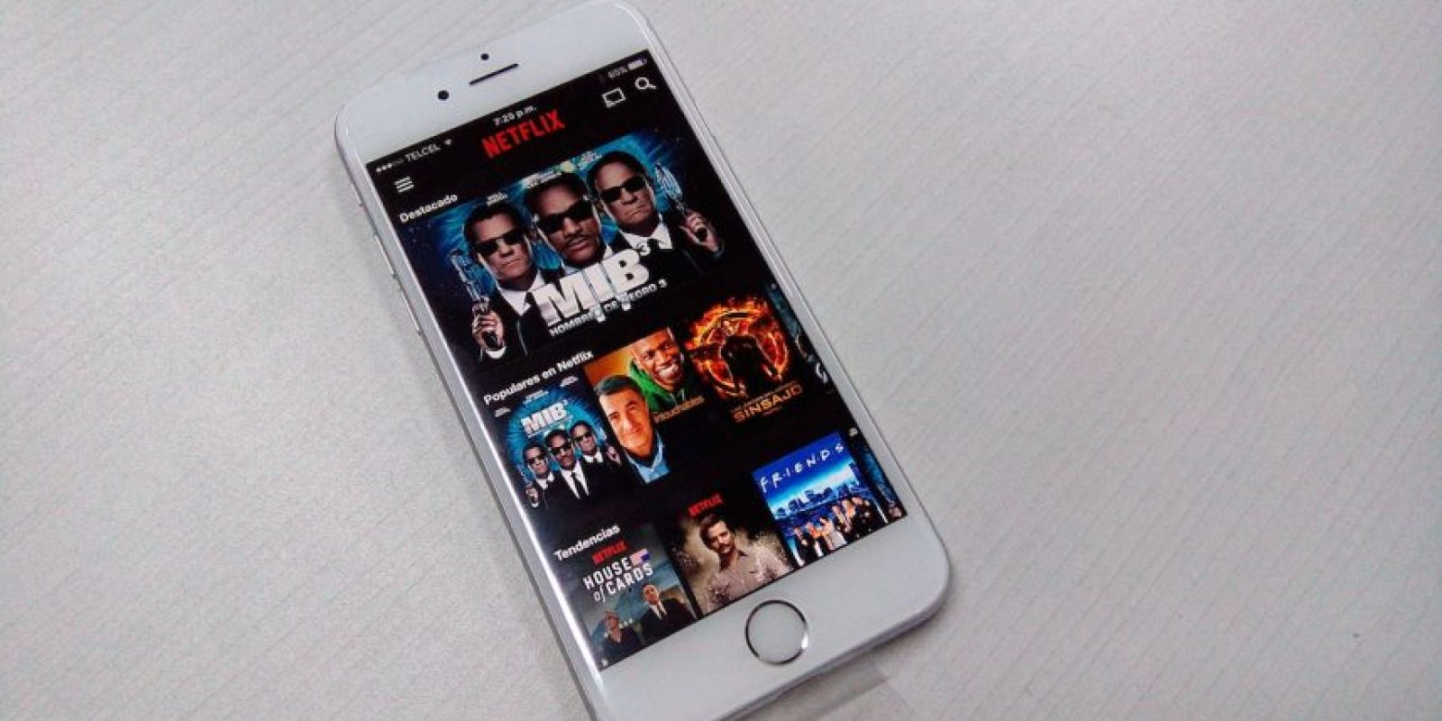 Incluye la segunda generación del Touch ID. Foto:Cesar Acosta / Especial