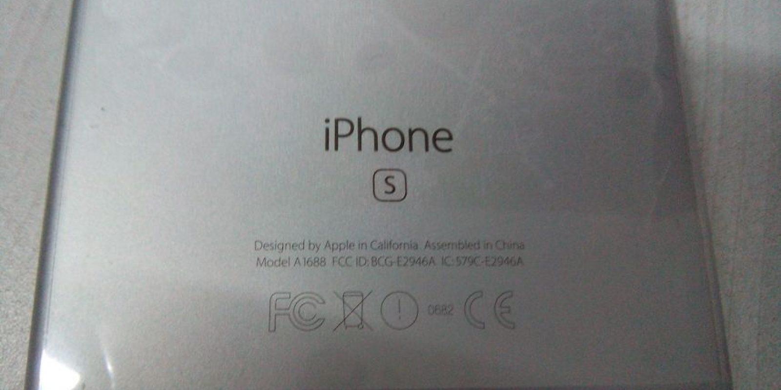 """La """"S"""" distingue al iPhone 6s del iPhone 6. Foto:Cesar Acosta / Especial"""