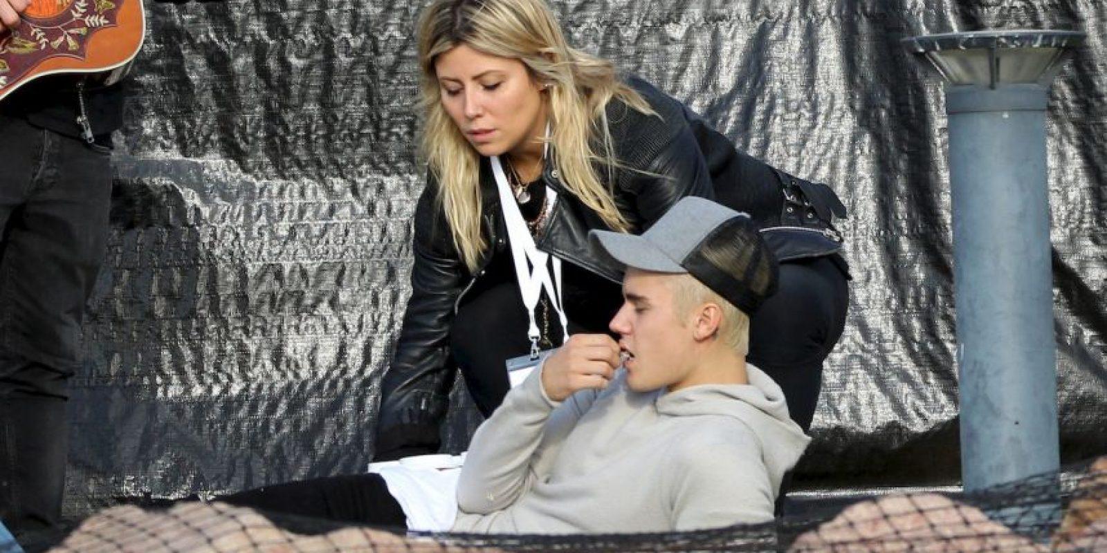 Bieber fue acusado de consumir marihuana durante una presentación con el dúo estadounidense Rae Sremmurd. Foto:Grosby Group