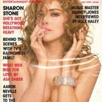 1990 ,Sharon Stone Foto:Playboy