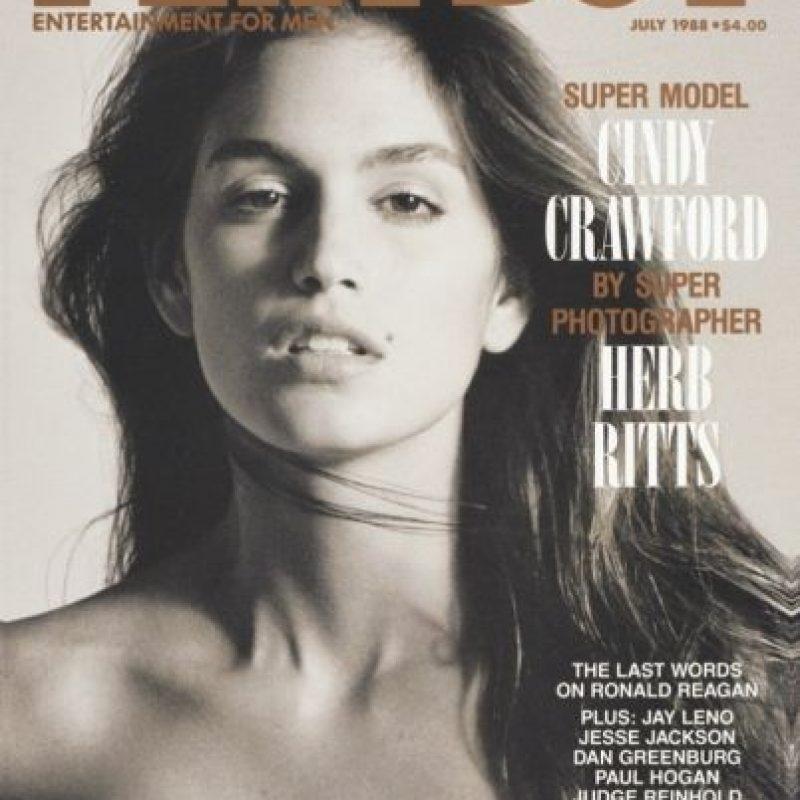 1988, Cindy Crawford Foto:Playboy