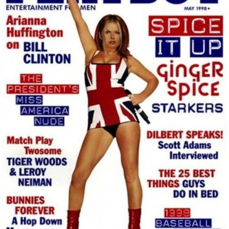 1998, Girl Geri Foto:Playboy