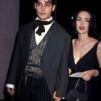 Fue la primera novia famosa de Johnny Depp. Foto:vía Getty Images