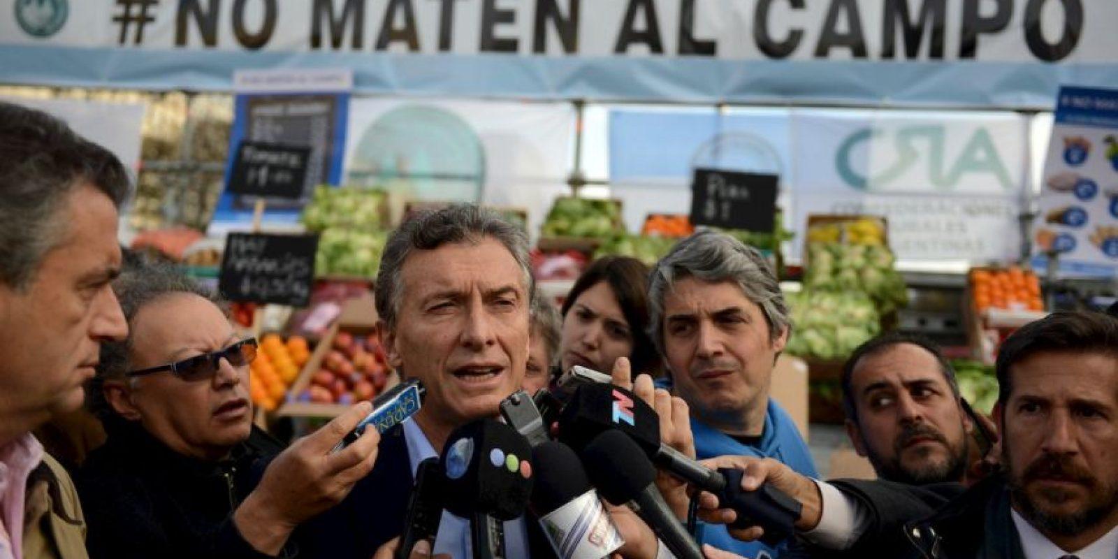 Está casado con Juliana Awada, desde 2010 Foto:AFP