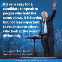 "Se declara como un ""demócrata socialista"" Foto:Instagram.com/berniesanders"