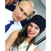 """Este es el selfie con """"su mejor amigo"""" Foto:Instagram.com/violetta_igoshina"""