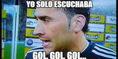 David Ospina lo sufrió mucho. Foto:memedeportes.com