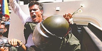 Cárcel: El riesgo de protestar en Venezuela