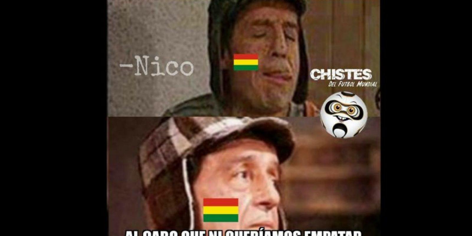 Y sí, Ecuador se llevó la victoria. Foto:Vía facebook.com/Chistes-del-Fútbol-Mundial