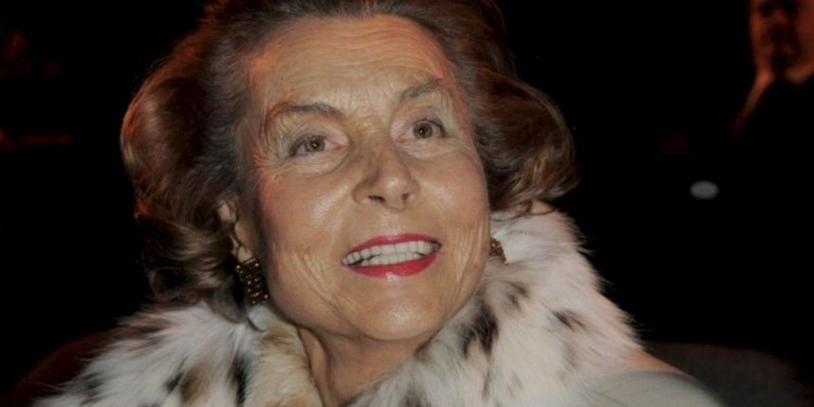 Vive en París, Francia y es la dueña de la empresa L'Oreal. Foto:Getty Images