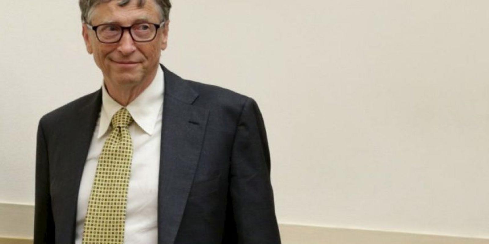 1. Bill Gates, de 59 años, es dueño de la compañía de tecnología Microsoft Foto:Getty Images