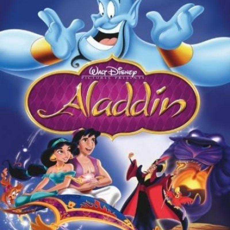 """""""Aladdín"""" es una película animada de Walt Disney Pictures. Foto:Disney"""
