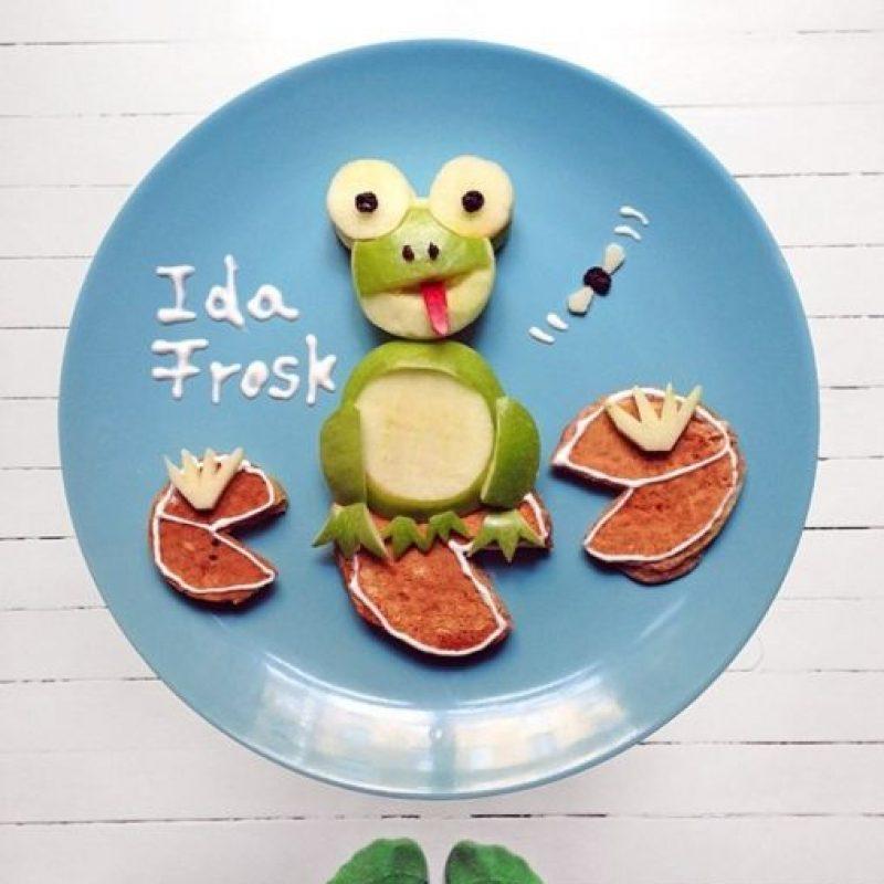 La rana. Foto:instagram.com/idafrosk
