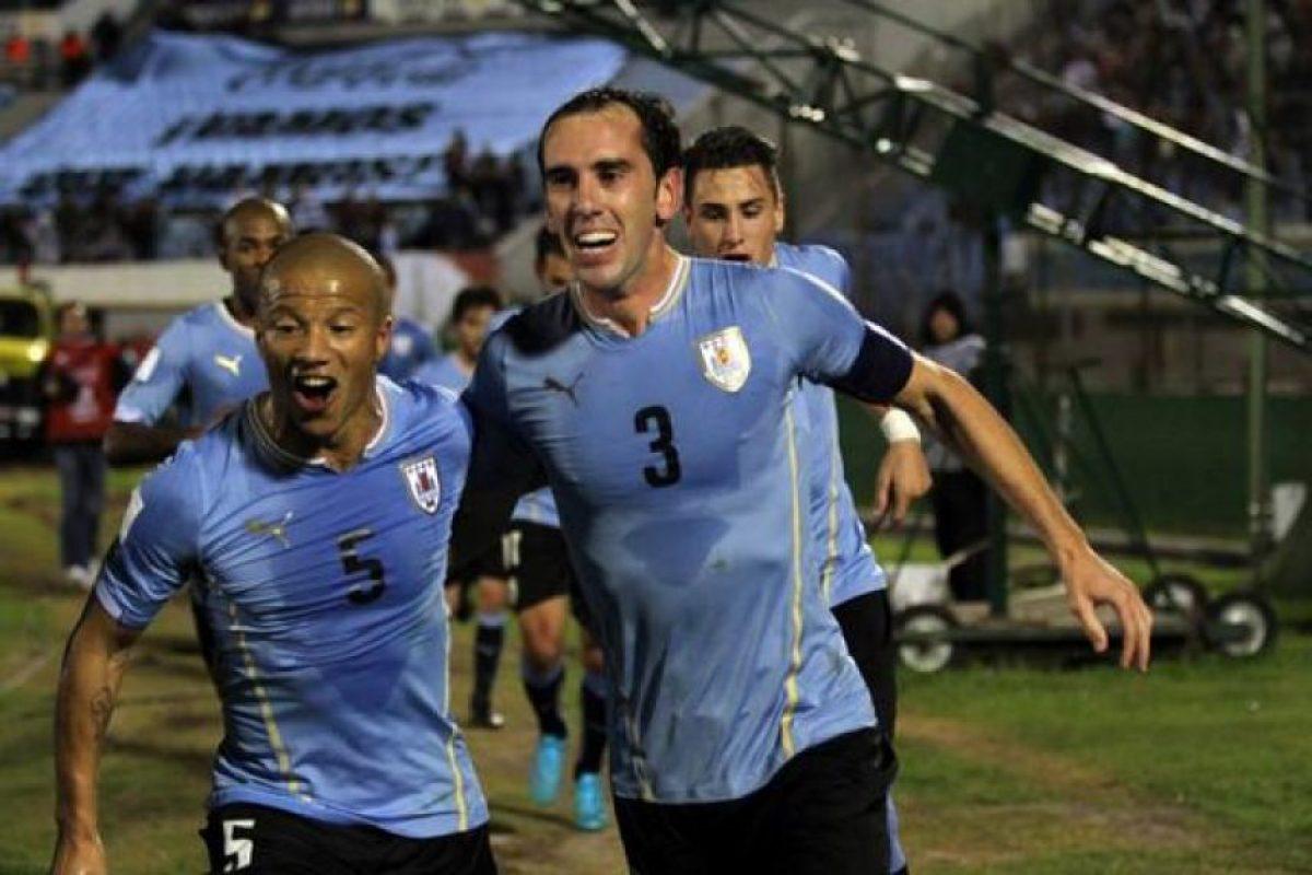 """La """"Celeste"""" derrotó 3-0 a los hombres de José Pekerman en el """"Centenario"""". Foto:Vía twitter.com/uruguay"""
