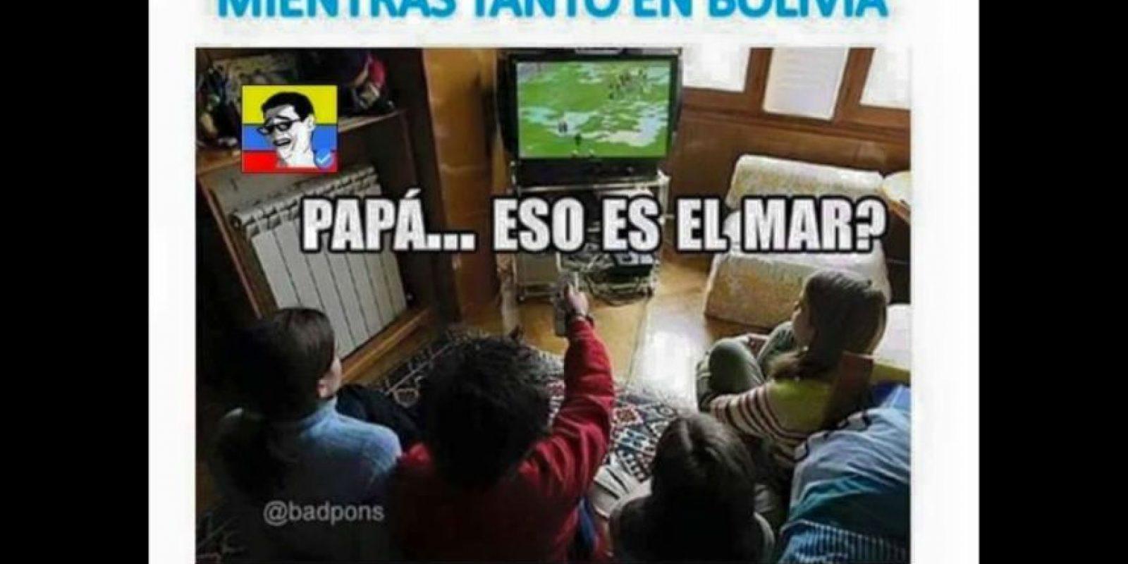 Y claro, no faltaron los chistes sobre Bolivia. Foto:Vía facebook.com/Chistes-del-Fútbol-Mundial