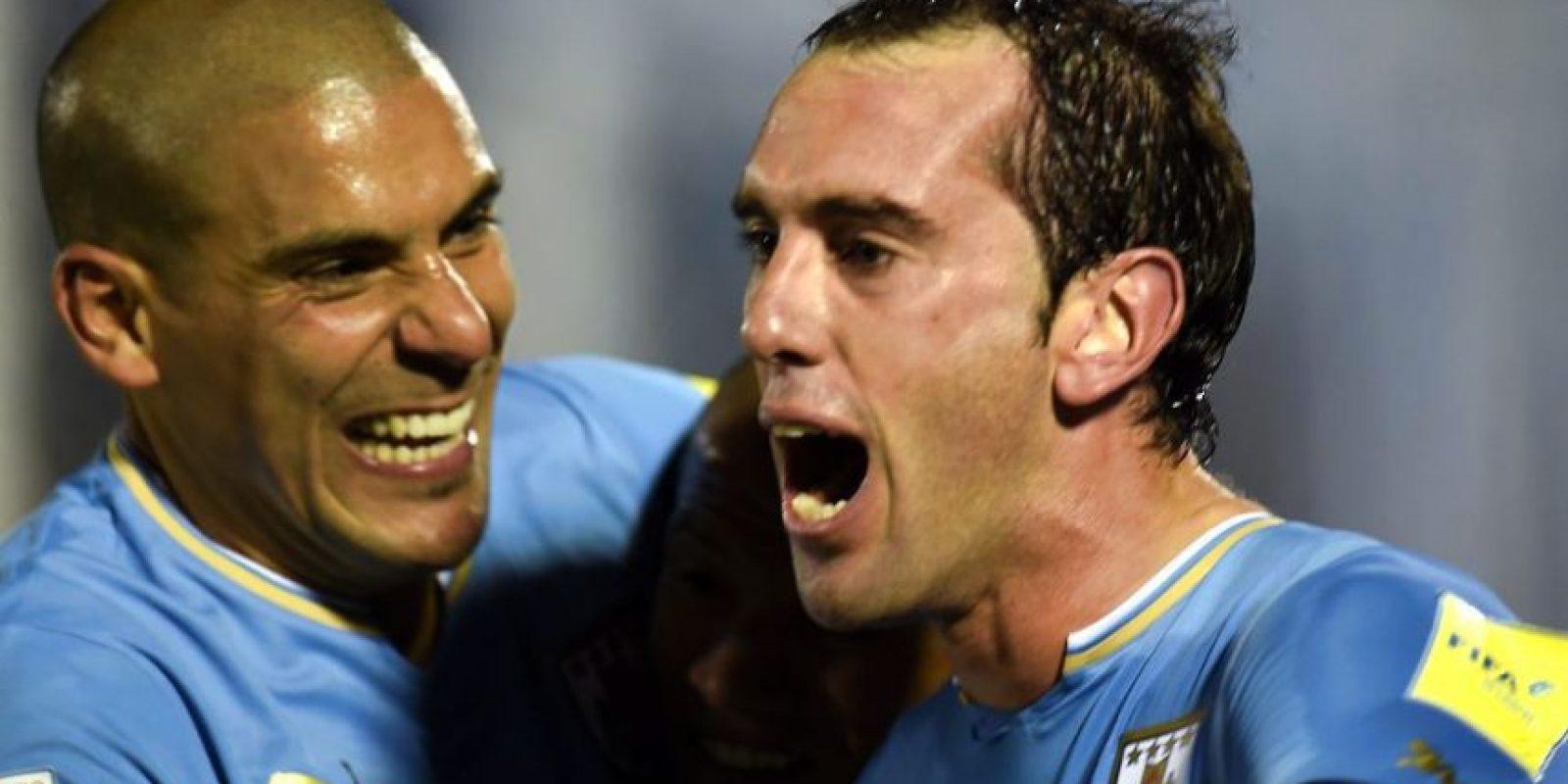 Diego Godín (Uruguay) Foto:AFP