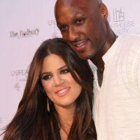 Khloé Kardashian y Lamar Odom se casaron en 2009 a tan solo cuatro semanas de conocerse. Foto:Getty Images