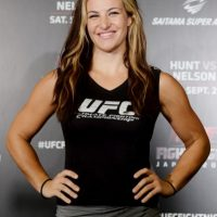 2. Miesha Tate > Con novio Foto: Getty Images