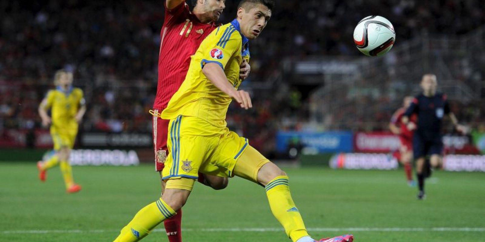 Fue el tercer lugar del grupo C, por debajo de España y Eslovaquia Foto:Getty Images