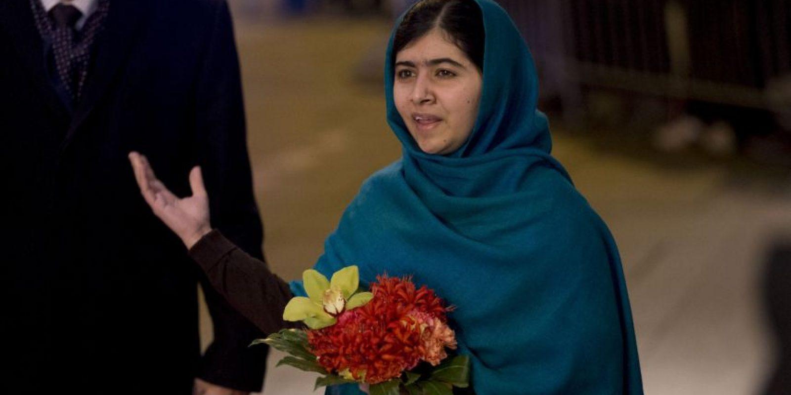 """El año pasado Malala Yousafzai ganó el Nobel de la Paz, """"por su lucha contra la supresión de los niños y jóvenes y por el derecho de todos los niños a la educación"""", es la persona más joven galardonada. Foto:AP"""