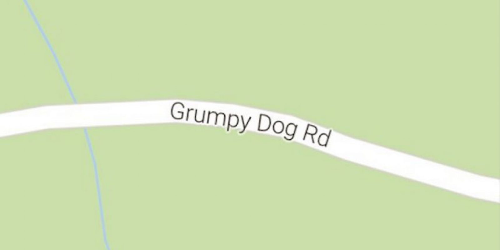 -Grumpy Dog Road (Libby, Montana, Estados Unidos). Foto:Vía Instagram @sadtopographies
