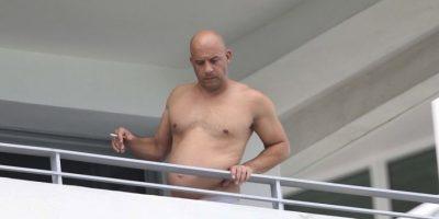 Sigue la polémica... ¿Vin Diesel trata de ocultar sus kilos de más en esta foto?