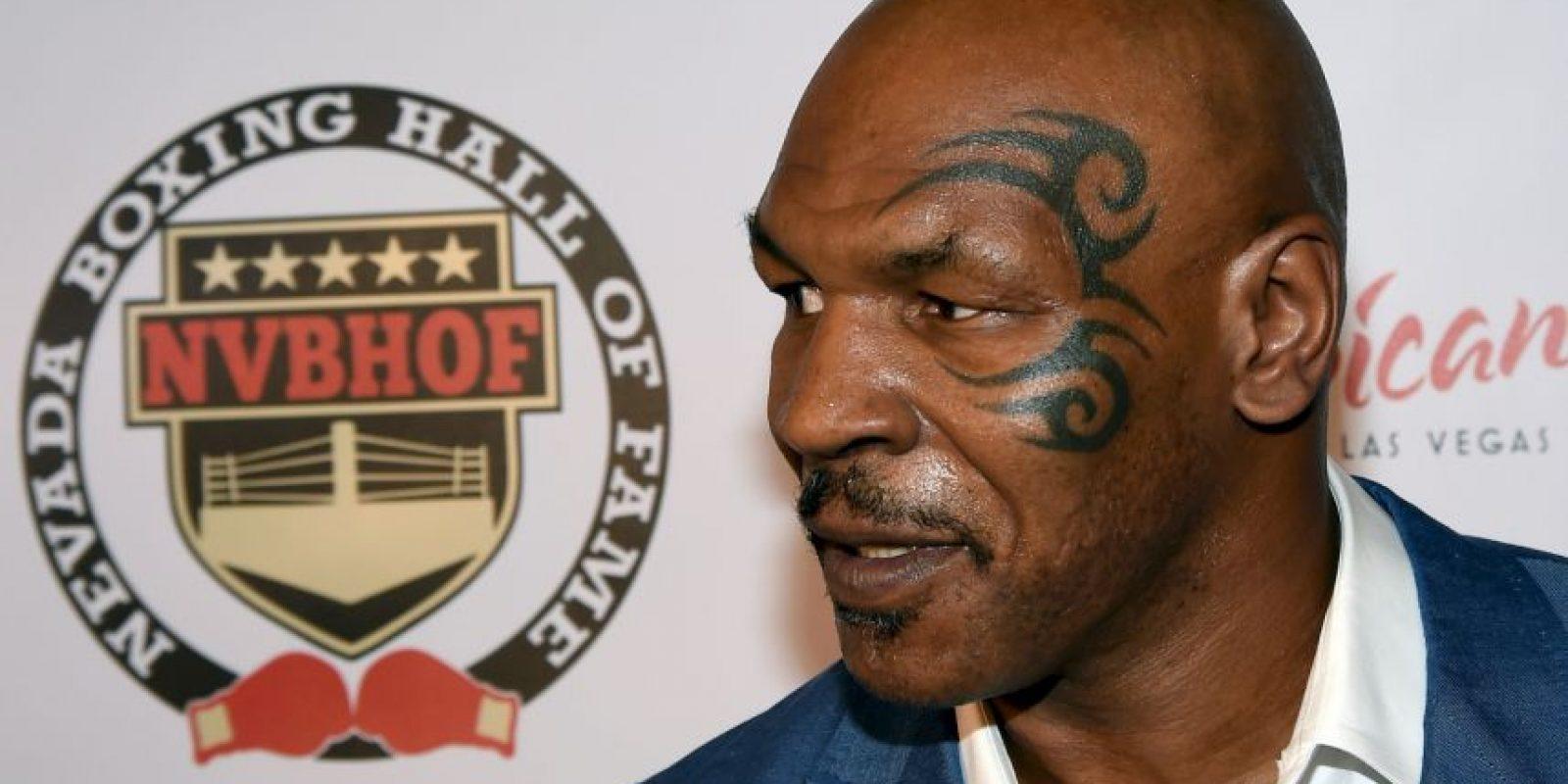 """Mike Tyson: El ex monarca de los pesos pesados confesó que era un """"cocainómano en toda la regla"""". Foto:Getty"""