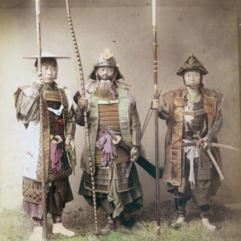 Los samurai son un tipo de guerreros que habitó en el antiguo Japón. Eran una especie de militares que estaban al servicio del gobierno de este país. Foto:Getty Images