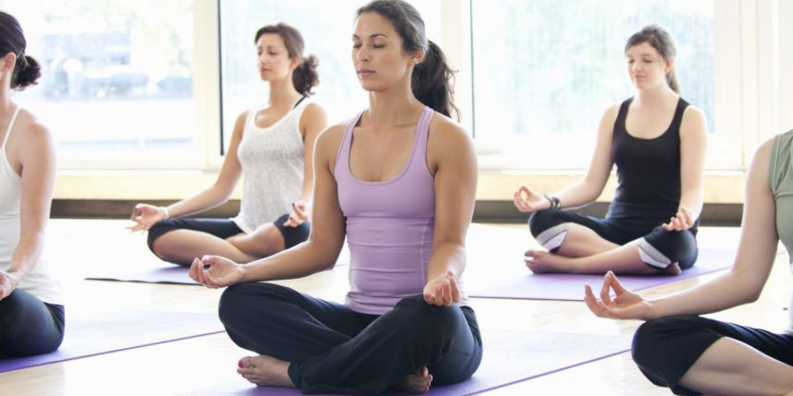 Ejercicios de Yogas Foto:Archivo