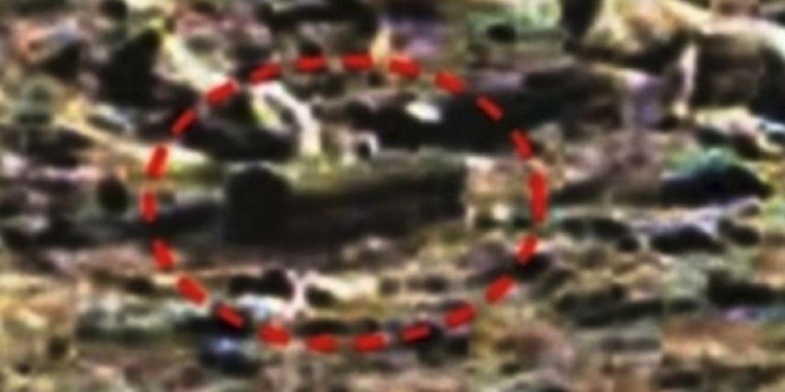 """Piedra con forma de ataúd. De acuerdo al sitio """"MundoMisterioso.net"""", esta supuesta caja se encontró en enero de 2015 Foto:NASA"""