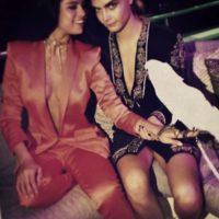 """Selena se confesó """"encantada"""" al ser relacionada con la modelo Cara Delevingne Foto:vía instagram.com/caradelevingne"""