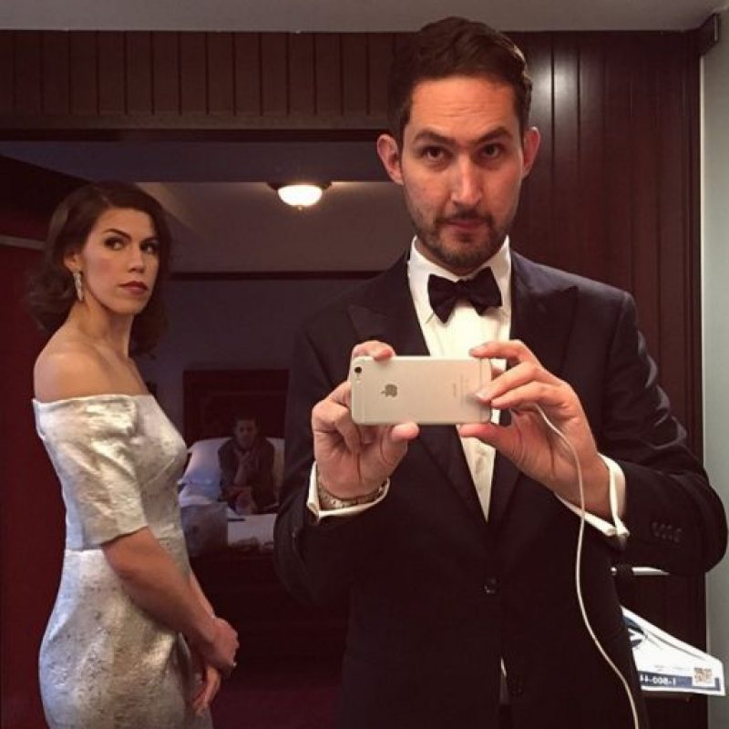 Nicole Schuetz y Kven Systrom. Foto:instagram.com/kevin