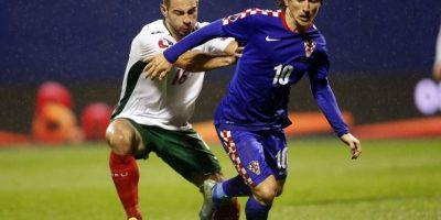 Sufrió una lesión en el duelo entre Croacia y Bulgaria. El saldo fue un edema en el aductor de la pierna derecha. Foto:AP