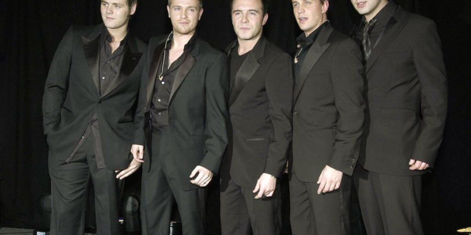 Westlife fue una banda irlandesa de estilo pop. Foto:Getty Images