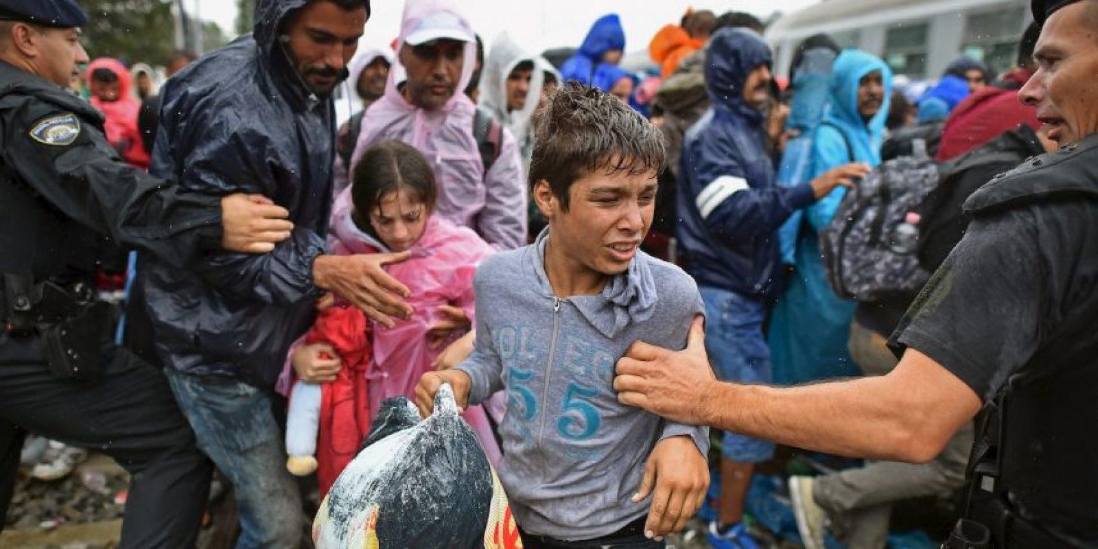 6. Actualmente se lleva a cabo en Bruselas una cumbre para atender la crisis de refugiados. Foto:Getty Images