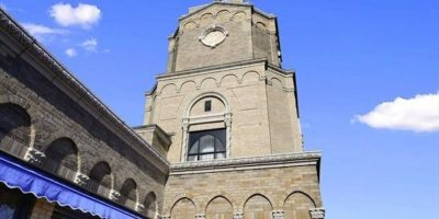 La biblioteca es una torre. Foto:corcoran.com