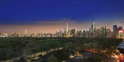 Así se ve la mansión desde el horizonte de Nueva York. Foto:corcoran.com