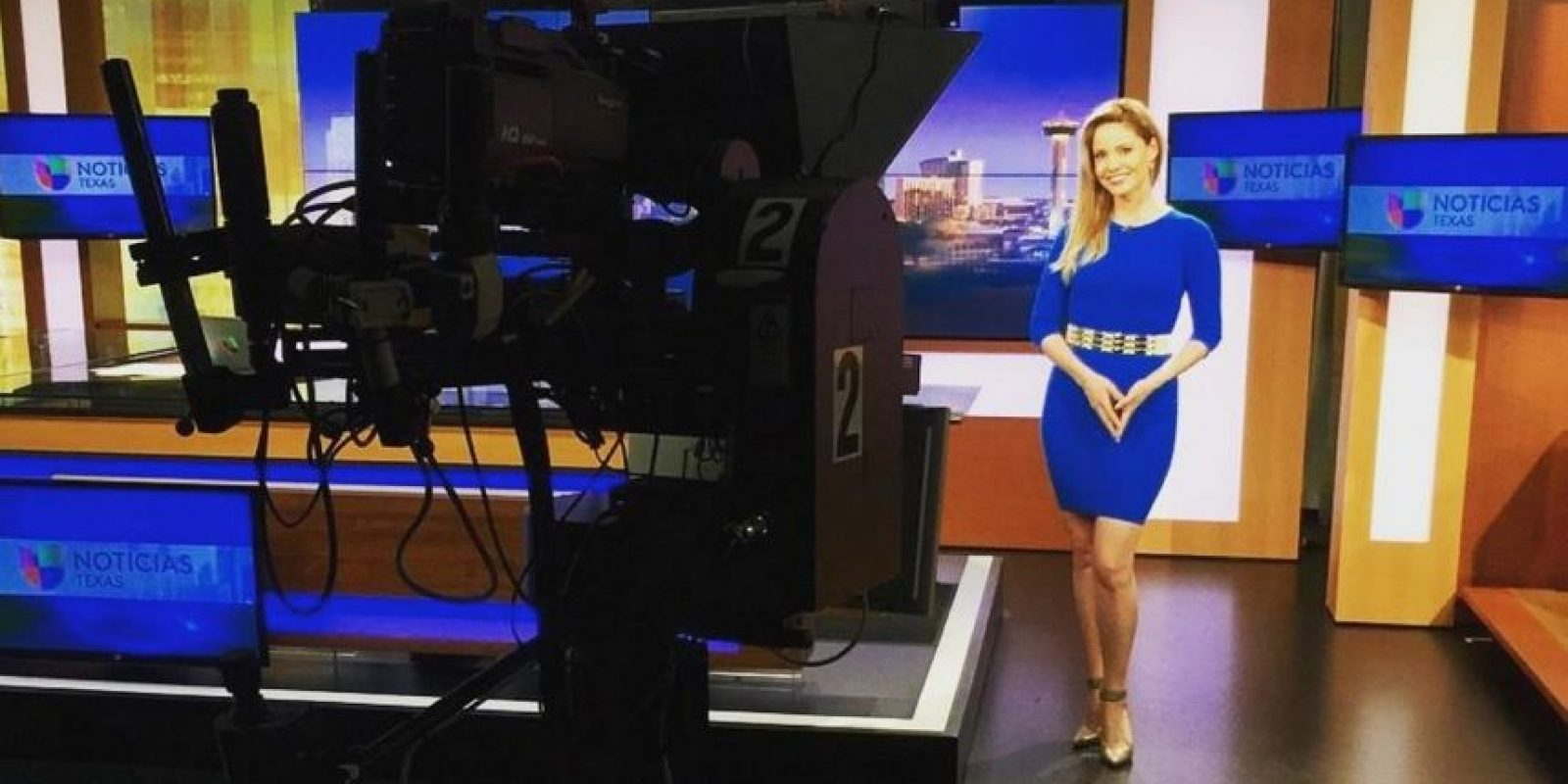 Se le puede ver todas las mañanas a través de Univision en Austin, Dallas, Houston y San Antonio, Texas de 4 a 6 de la mañana Foto:Vía facebook.com/KarinaYaporNews