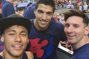 """Desde la temporada pasada, en España se hizo costumbre llamar al tridente del Barcelona """"MSN"""". Esto por las iniciales de los futbolistas que lo integran (Lionel) Messi, (Luis) Suárez y Neymar. Foto:Vía instagram.com/neymarjr"""