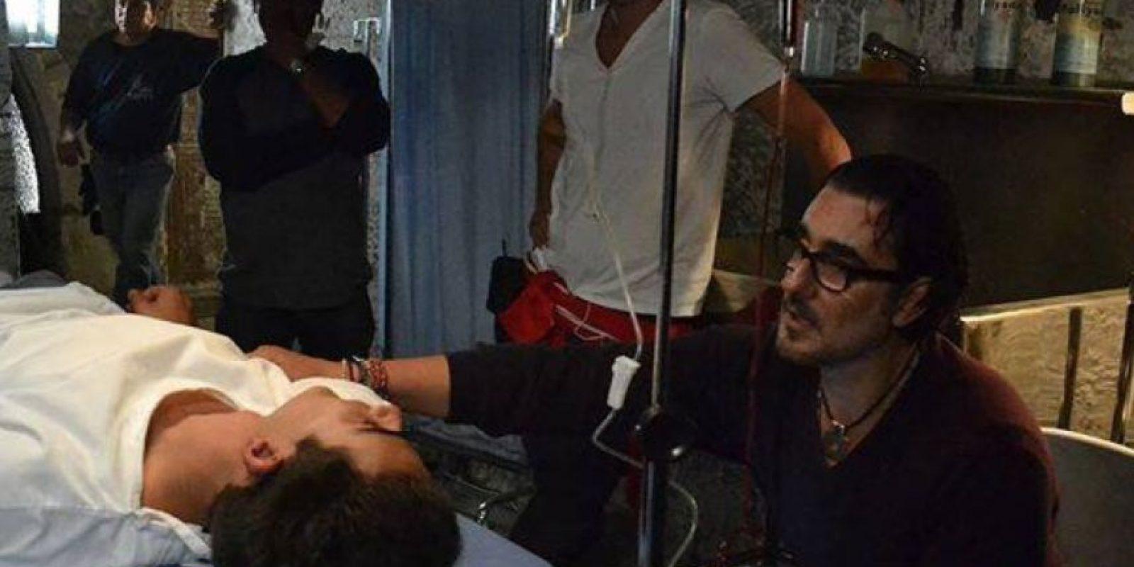 """Ahora dirige la producción """"Señora Acero"""". Foto:vía Facebook/Miguel Varoni"""
