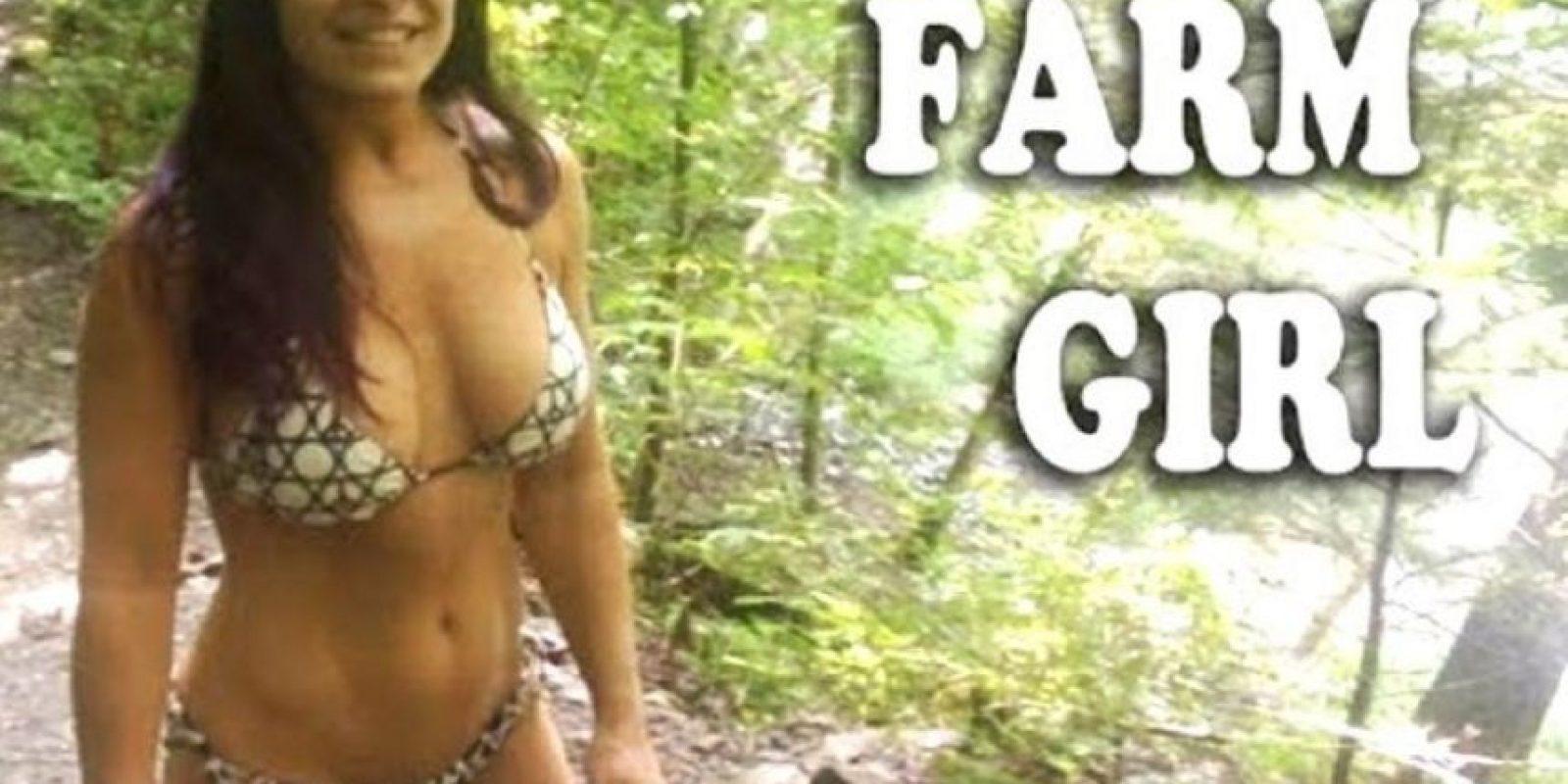 "Se hace llamar ""Farm Girl"" Foto:Vía Facebook.com/bansheemoongirl"