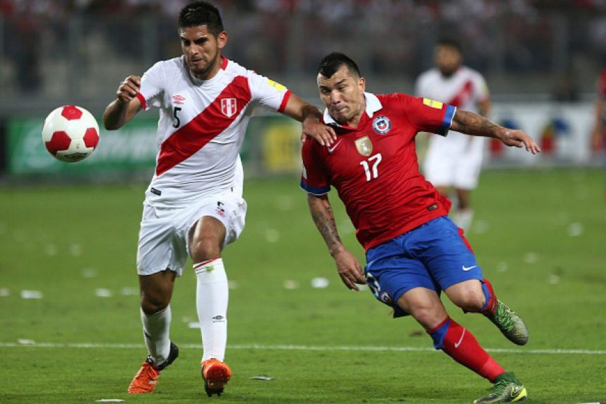 Chile y Perú se enfrentaron el pasado 8 de octubre en suelo peruano. Foto:Getty Images