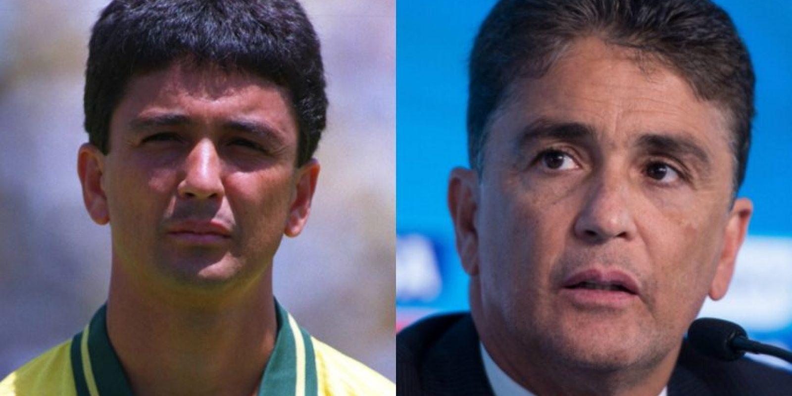 Bebeto: El brasileño fue Campeón del Mundo en 1994, tiene actualmente 51 años. Foto:Getty Images