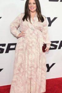 """Durante el rodaje de la cinta """"The Boss"""", la actriz de 45 años dejó ver su silueta más delgada. Foto:Getty Images"""