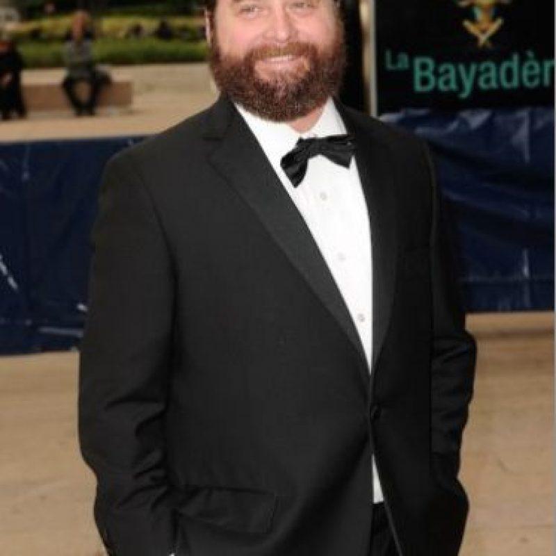 """El actor de la trilogía """"The Hangover"""" (""""¿Qué pasó ayer?) es más reconocido por su figura robusta. Foto:Getty Images"""