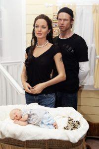 En 2006 la familia creció, con la llegada de Shiloh. Foto:Getty Images