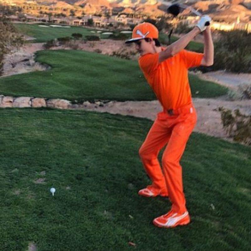 Y también le gusta el golf Foto:vía instagram.com/pavdarawse