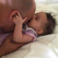 Además, al inicio del programa, Diesel mostró una imagen de Pauline Sinclair, su hija recién nacida. Foto:Instagram/vindiesel