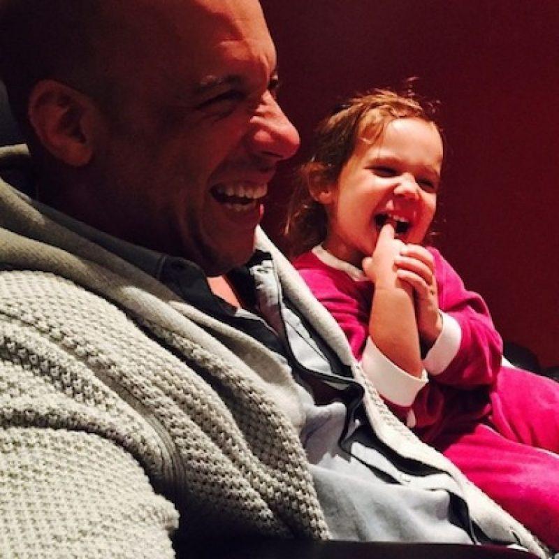 Vin Diesel recibió un tierno mensaje cuándo Jimmy Fallon lo estaba entrevistando. Foto:Instagram/vindiesel